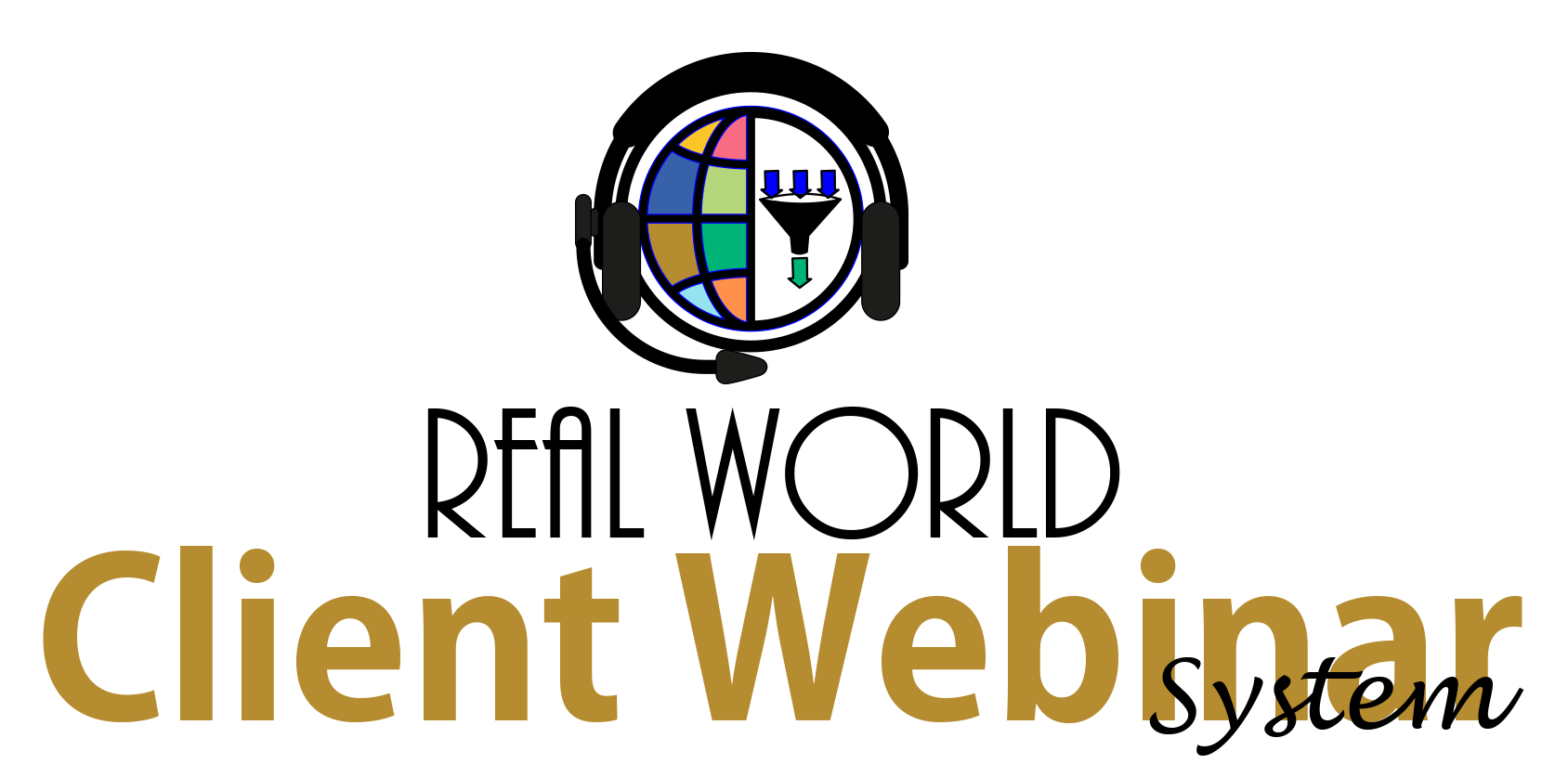 Real World Client Webinar System logo